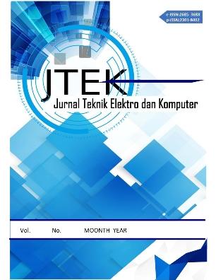 E-Jurnal Teknik Elektro dan Komputer Univ. Sam Ratulangi Manado