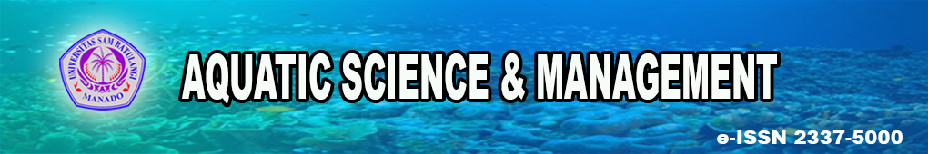 Jurnal AQUATIC SCIENCE & MANAGEMENT