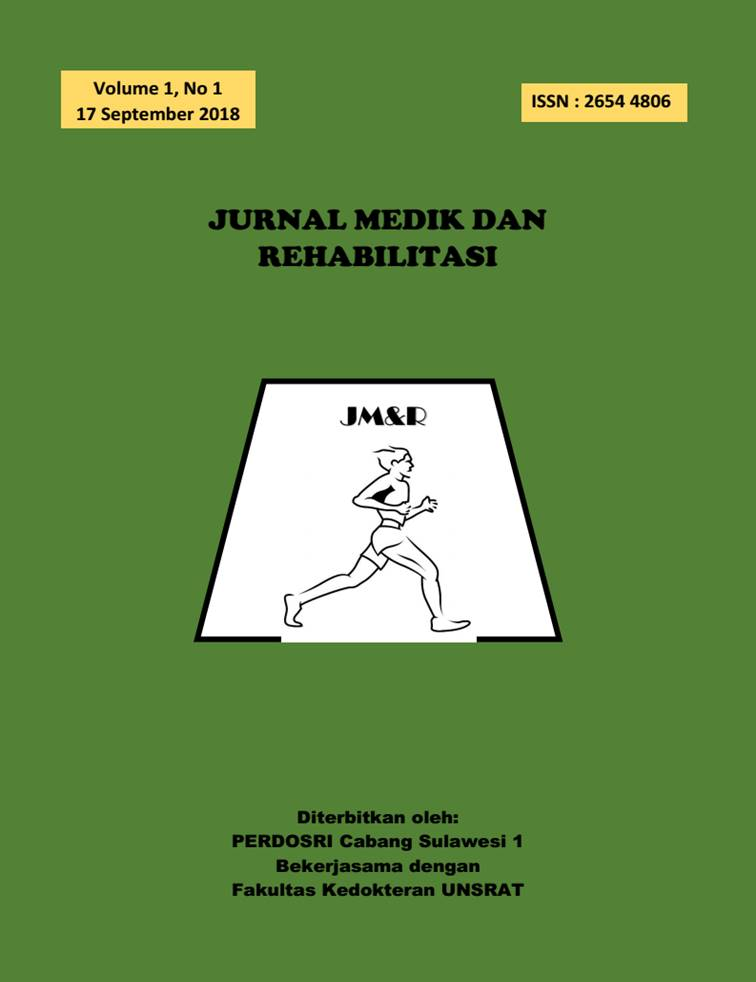 Jurnal Medik dan Rehabilitasi, Vol 1, No 1, 2018
